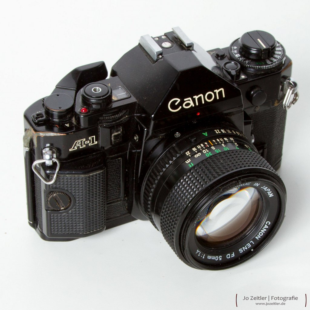 Oldie but Goldie Canon A1